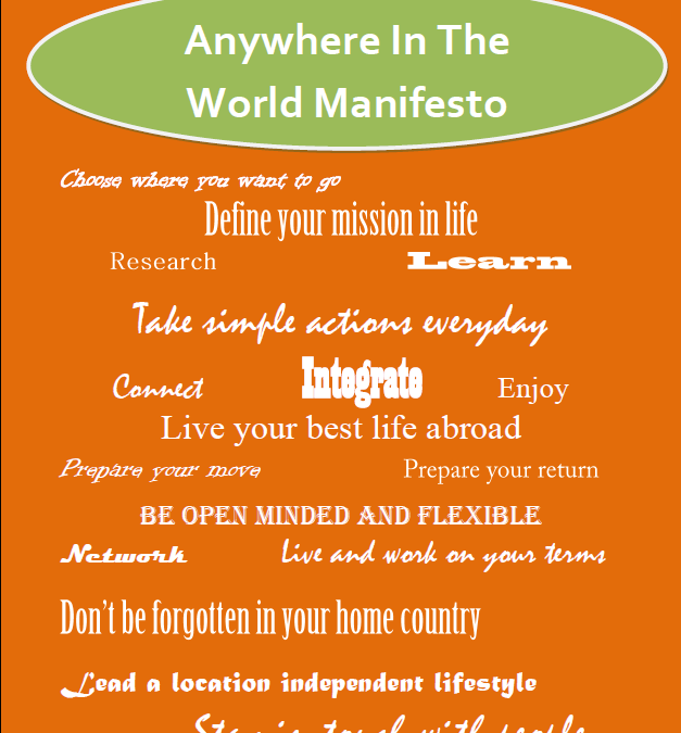 Anywhere in the World Manifesto