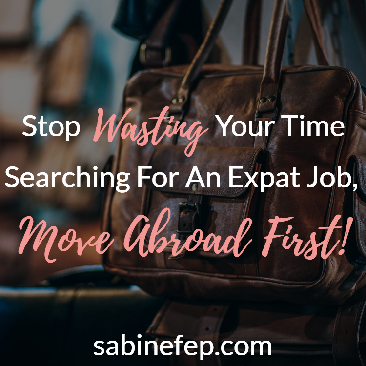 expat job move abroad first