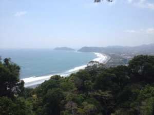 expat in costa rica - view of Jaco