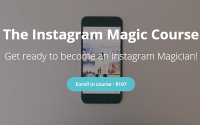 Review of The Instagram Magic Course by Lisa @ Fjords and Beaches