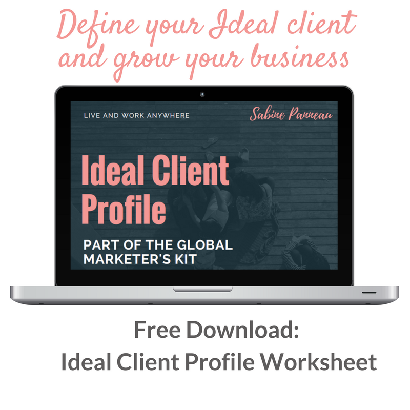 download Ideal client worksheet