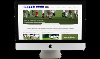 My Portfolio – Soccer RRHH