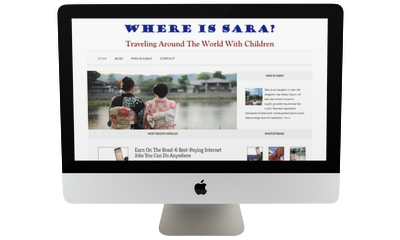 "My Portfolio – ""Where Is Sara?"" Travel Blog"