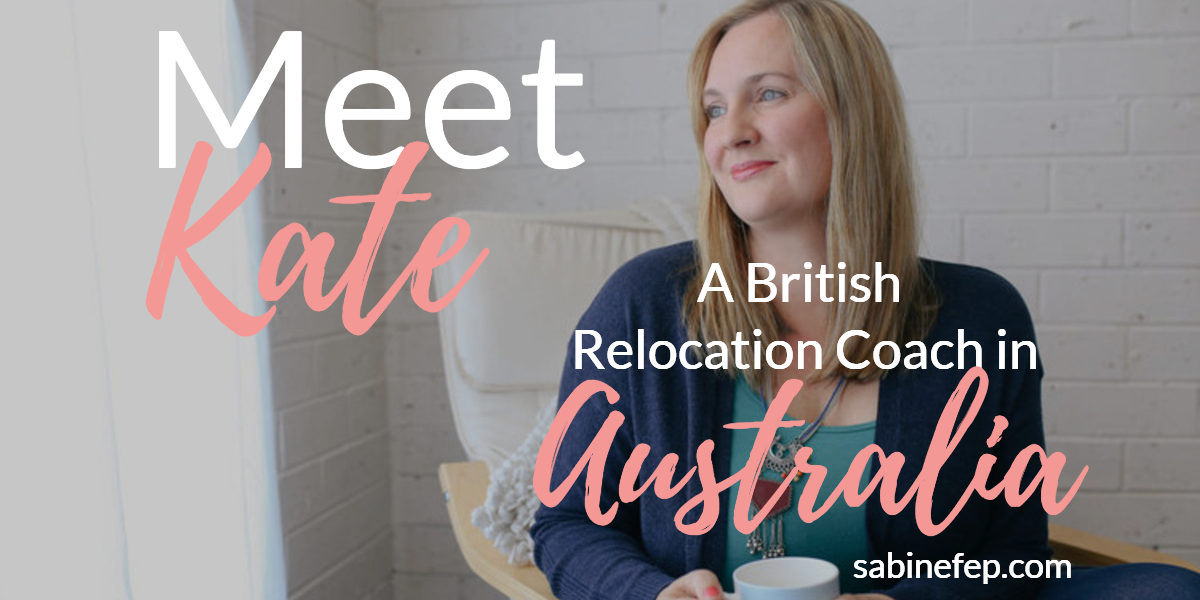 Meet kate a relocation coach in Australia