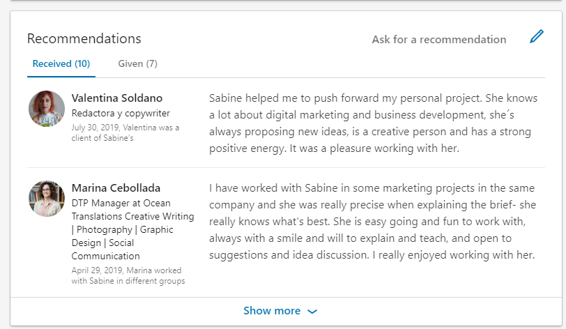 ask_and_give_recommendations_on_linkedin_to_find_a_job_in_2020