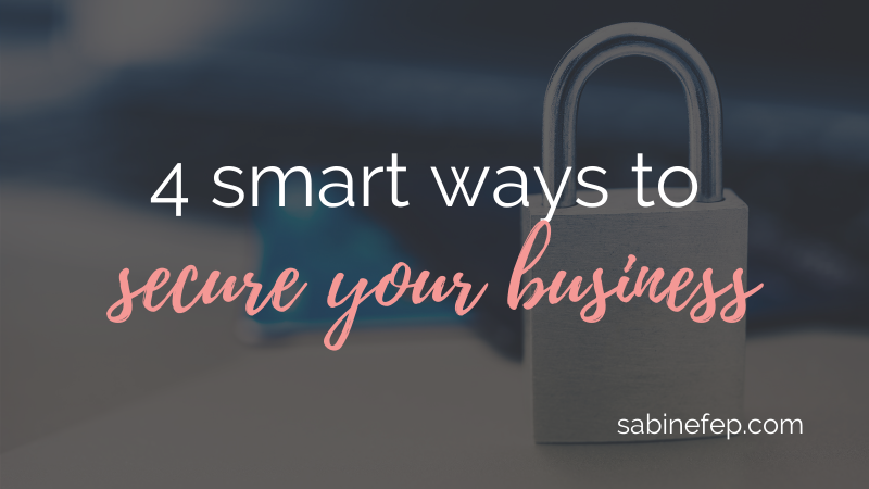 smart ways to secure your business
