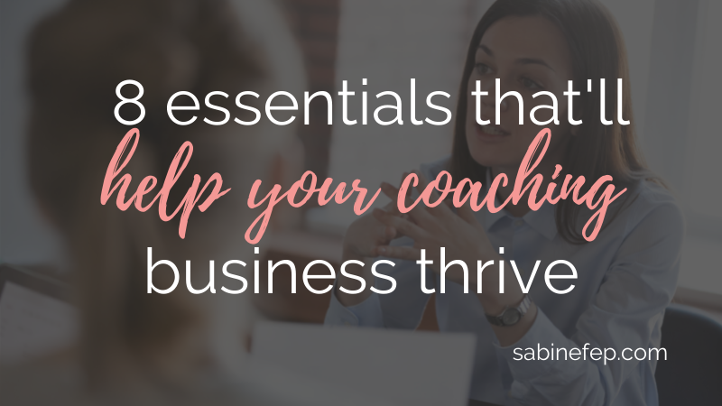 help your coaching business thrive