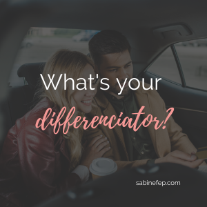What is your Differentiator?